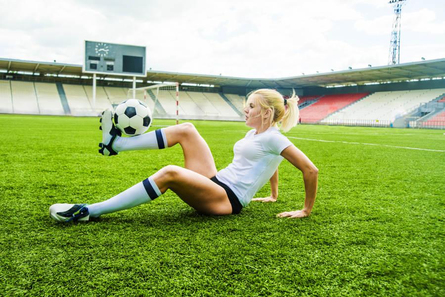 Hvordan kan man trene på teknikk i fotball