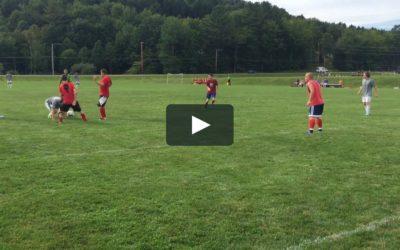 GoPro på fotballkamp