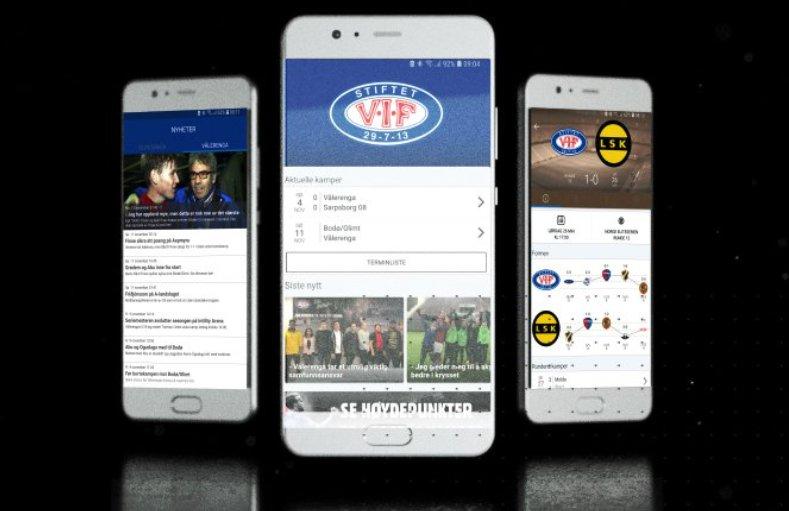 Nyttige apper for fotballfans